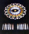 Rose Window, Strasburg: Just a photo to add some colour to a drab site.